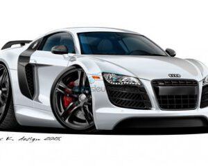Audi lege behuizingen