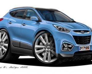 Hyundai lege behuizingen