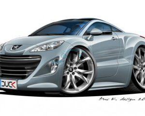 Peugeot lege behuizingen