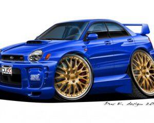 Subaru met elektronica